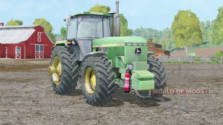 John Deere 4755〡wheel particule spec pour Farming Simulator 2015