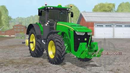 John Deere 8370R〡scheiben getont für Farming Simulator 2015