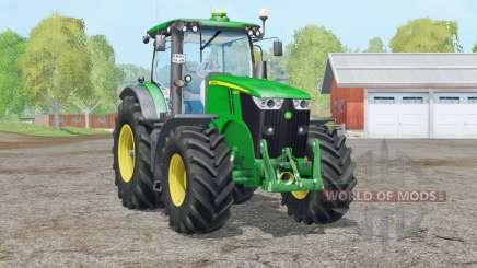 John Deere 7280R〡Staub von den Rädern für Farming Simulator 2015