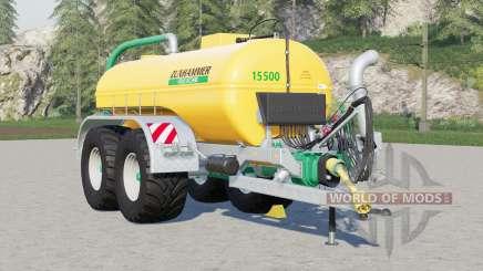 Système Zunhammer SK〡manure installé pour Farming Simulator 2017