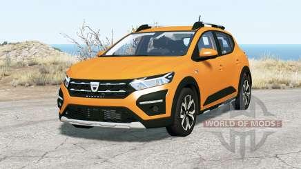 Dacia Sandero Stepway 2020 pour BeamNG Drive