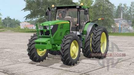 John Deere 6R Série Uchusa pour Farming Simulator 2017