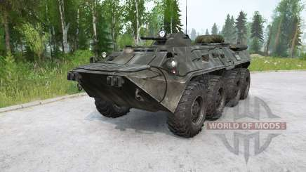BTR-80 〡 natation pour MudRunner