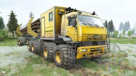 Kamaz-6560 Polarforscher v1.2 für MudRunner