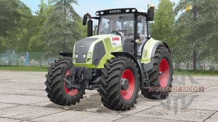 Claas Axion 800 〡 modèle amélioré pour Farming Simulator 2017