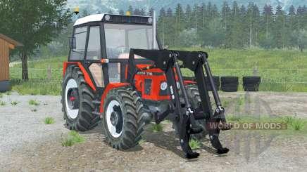 Zetor 7745〡 chargeur frontal pour Farming Simulator 2013