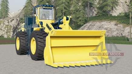 Komatsu WA900 für Farming Simulator 2017