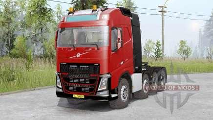 Volvo FH16 750 8x8 tractor Globetrotter cab für Spin Tires