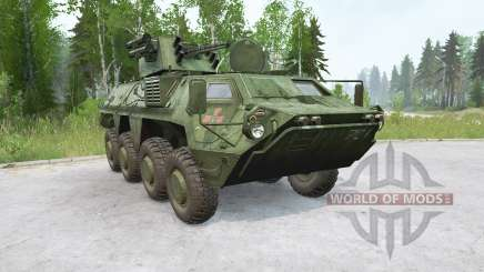 BTR-4E Bucephalus〡fal pour MudRunner