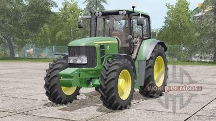 John Deere 6030 Premiuꙧ für Farming Simulator 2017