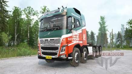 Volvo FH16 750 10x10 Globetrotter XL für MudRunner