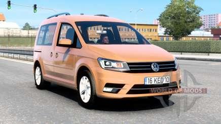 Volkswagen Caddy (Type 2K) 2016 v1.8 für Euro Truck Simulator 2