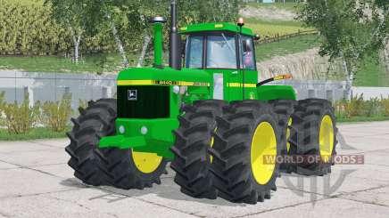 John Deere 8440〡configuration twin wheel pour Farming Simulator 2015