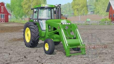 John Deere 4455〡avec chargeur frontal pour Farming Simulator 2015