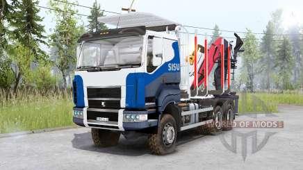 Sisu C600 Timber Truck für Spin Tires