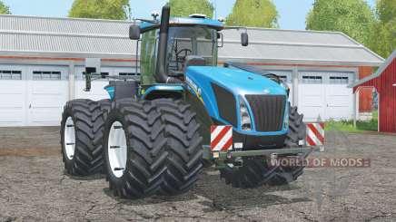New Holland T9.565〡mit Zweirädern für Farming Simulator 2015