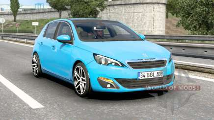 Peugeot 308 (T9) 2014 v1.7 für Euro Truck Simulator 2