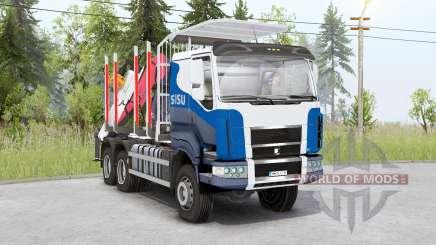 Sisu C600 Timber Truck v1.2 für Spin Tires