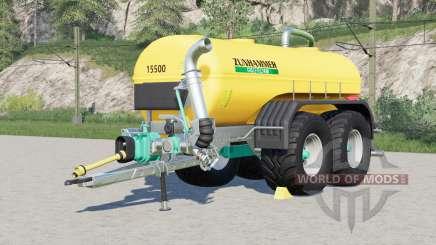 Zunhammer SKE〡manure système installé pour Farming Simulator 2017