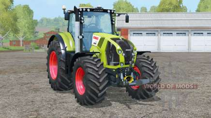 Claas Axion 870〡 essieu avant isolé pour Farming Simulator 2015