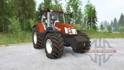 New Holland T6.175〡pendelachse für MudRunner