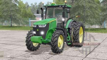 John Deere 7R series〡changed color pour Farming Simulator 2017