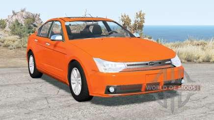 Ford Focus sedan (NA2) 2008 v2.15 pour BeamNG Drive