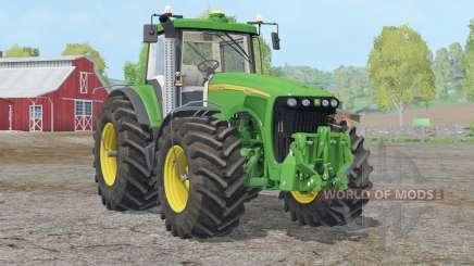 John Deere 8220 〡indoor son pour Farming Simulator 2015