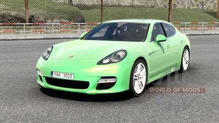 Porsche Panamera Turbo (970) 2009 v6.0 für Euro Truck Simulator 2