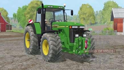 John Deere 8110〡Tür, Heckscheibe für Farming Simulator 2015