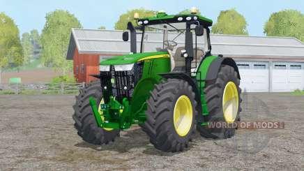 John Deere 7310R〡Staub von den Rädern für Farming Simulator 2015