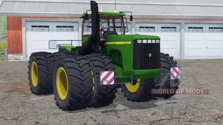 John Deere 9400〡nouveau son de moteur pour Farming Simulator 2015