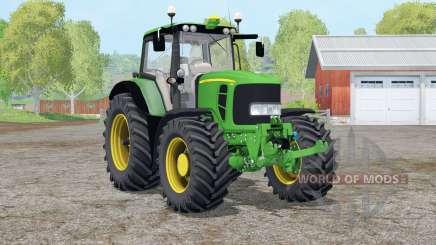 John Deere 7430 Premium〡tire Tracks für Farming Simulator 2015