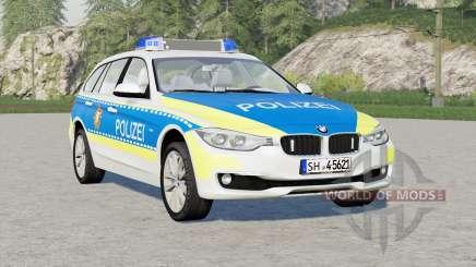 BMW 318d Touring Polizei FuStW (F31) 2015〡Schleswig-Holstein für Farming Simulator 2017
