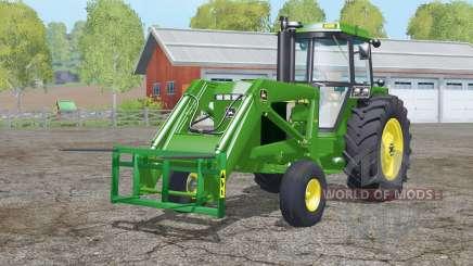 John Deere 4455〡light ajusté pour Farming Simulator 2015