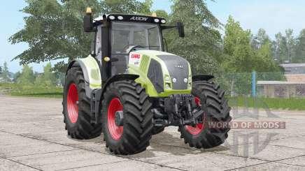Claas Axion 800〡front hydraulique ou poids pour Farming Simulator 2017