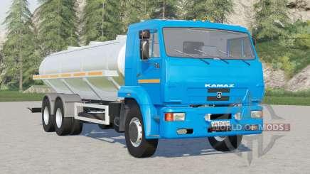 Kamaz-65117 Milchlokomotive für Farming Simulator 2017