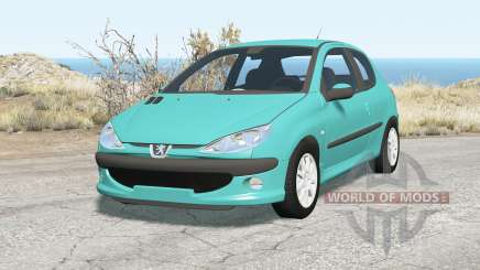 Peugeot 206 2003 pour BeamNG Drive