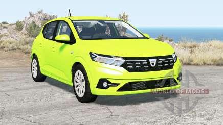 Dacia Sandero 2020 pour BeamNG Drive