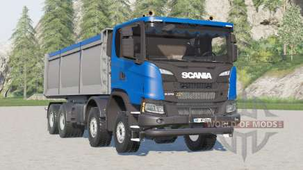Scania G 370 XT 8x8 tipper 2017 pour Farming Simulator 2017