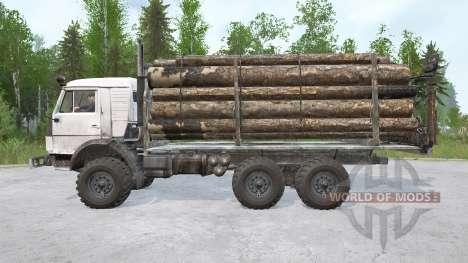 KamAZ-43114 6х6 pour Spintires MudRunner