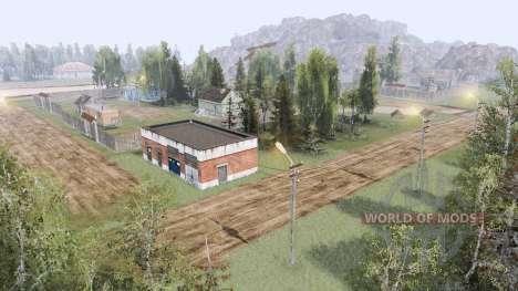Dorf in den Bergen v3.0 für Spin Tires