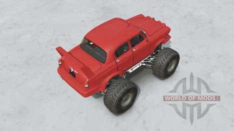 GAZ-21 Monstre pour Spin Tires