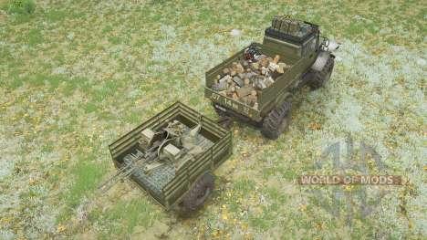ZVM-39082 Siver 4х4 pour Spintires MudRunner
