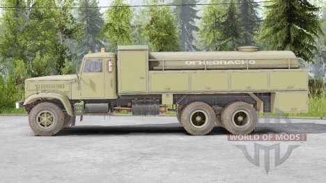 KrAZ-257 pour Spin Tires