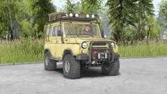 UAZ-469 v1.2 für Spin Tires