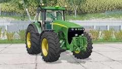John Deere 8220〡 suspension avantanimée pour Farming Simulator 2015