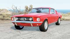 Ford Mustang GT-A Fastback 1967 für BeamNG Drive