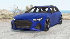 Audi RS 6 Avant (C8) 2019 v2.0 pour BeamNG Drive