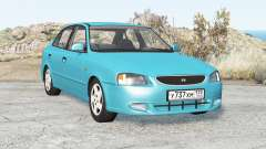 Hyundai Accent Sedan 2003 für BeamNG Drive